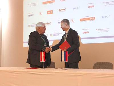 Signed an exclusive agreement on technology transfer and localization of production of rockfall protection systems in the Russian Federation
